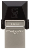 USB Flash накопитель 16Gb Kingston DataTraveler MicroDuo 3.0 (DTDUO3/16GB)