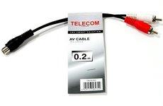 Переходник Telecom RCA (F) - 2xRCA (M) (TAV4355-0.2M)
