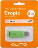 USB Flash накопитель 8Gb QUMO Tropic Green