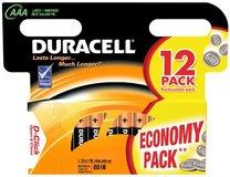Батарейка Duracell Basic (AAA, Alkaline, 12 шт)
