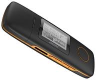 Портативный плеер Digma U3 4Gb Black/Orange