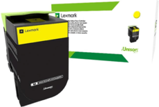 Картридж Lexmark 80C8SYE Yellow