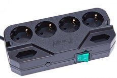 Сетевой фильтр Most CRG 2м 6 розеток чёрный