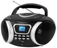 Аудиомагнитола BBK BX170BT Black/Silver