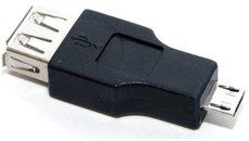 Переходник 5bites USB 2.0 A (F) - Micro USB B (M) (UA-AF-MICRO5)