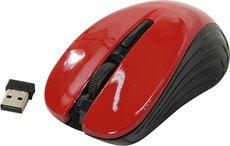 Мышь Oklick 545MW Black/Red