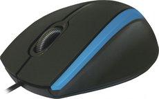 Мышь Defender MM-340 Black/Blue