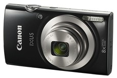 Фотоаппарат Canon Digital IXUS 185 Black