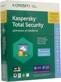 Kaspersky Total Security Multi-Device Rus 2 devices 1 year Renewal Box (KL1919RBBFR)