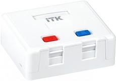 Корпус настенной розетки ITK CS2-022