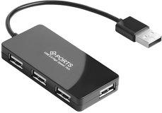 USB-концентратор Greenconnect GCR-UH244B