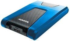 Внешний жесткий диск 2Tb ADATA HD650 Blue (AHD650-2TU31-CBL)