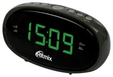 Радиобудильник Ritmix RRC-616 Black