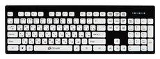 Клавиатура Oklick 580M Black/White