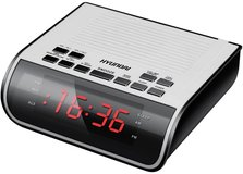 Радиобудильник Hyundai H-RCL100 White