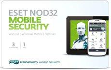 ESET NOD32 Mobile Security - лицензия на 1 год на 3 мобильных устройства (NOD32-ENM2-NS(CARD)-1-1)