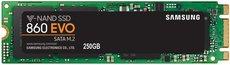 Твердотельный накопитель 250Gb SSD Samsung 860 EVO Series (MZ-N6E250BW)