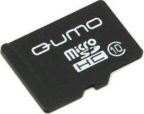 Карта памяти 16Gb MicroSD QUMO Class 10 (QM16GMICSDHC10NA)