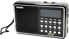 Радиоприёмник Сигнал РП-221 Black