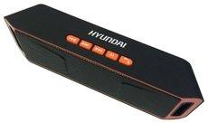 Портативная акустика Hyundai H-PAC160 Black/Orange