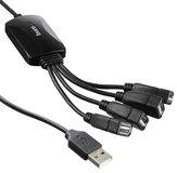 USB-концентратор Buro BU-HUB4-0.3-U2.0-SPLITTER