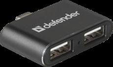 USB-концентратор Defender Quadro Dual