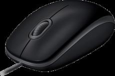 Мышь Logitech B110 Silent Black (910-005508)