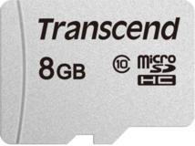 Карта памяти 8Gb MicroSD Transcend Class 10 (TS8GUSD300S)