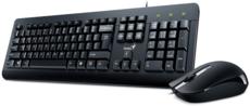 Клавиатура + мышь Genius KM-160 Black