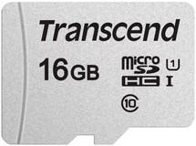 Карта памяти 16Gb MicroSD Transcend (TS16GUSD300S)