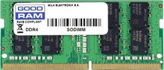 Оперативная память 16Gb DDR4 2666MHz GOODRAM SO-DIMM (GR2666S464L19/16G)