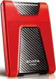 Внешний жесткий диск 1Tb ADATA HD650 Red (AHD650-1TU31-CRD)