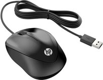 Мышь HP Wired Mouse 1000 Black (4QM14AA)
