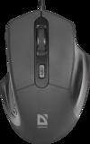 Мышь Defender Datum MB-347 Black (52347)