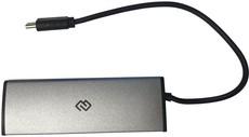 USB-концентратор Digma HUB-4U2.0-UC-DS