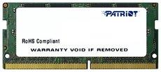 Оперативная память 4Gb DDR4 2400MHz Patriot SO-DIMM (PSD44G240082S)