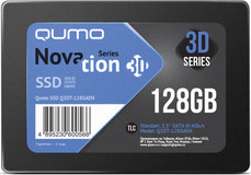 Твердотельный накопитель 128Gb SSD QUMO Novation 3D (Q3DT-128GAEN)