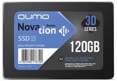 Твердотельный накопитель 120Gb SSD QUMO Novation 3D (Q3DT-120GAEN) OEM