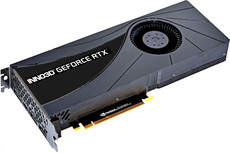 Видеокарта nVidia GeForce RTX2080 Super Inno3D Jet PCI-E 8192Mb (N208S1-08D6-1180705)
