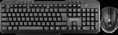 Клавиатура + мышь Defender Jakarta C-805 Black