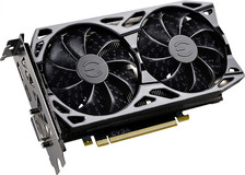 Видеокарта nVidia GeForce GTX1660 Ti EVGA SC Ultra Gaming PCI-E 6144Mb (06G-P4-1667-KR)