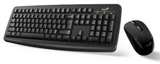 Клавиатура + мышь Genius KM-8100 Black