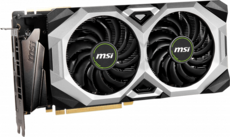 Видеокарта nVidia GeForce RTX2080 Super MSI PCI-E 8192Mb (RTX 2080 SUPER VENTUS XS)