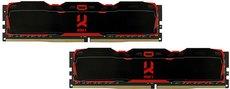 Оперативная память 8Gb DDR4 3200MHz GOODRAM IRDM X (IR-X3200D464L16S/8GDC) (2x4Gb KIT)