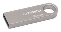 USB Flash накопитель 32Gb Kingston DataTraveler SE9 Champagne (DTSE9H/32GB)