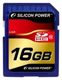 Карта памяти 16Gb Silicon Power SDHC Class 10 (SP016GBSDH010V10)