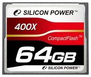 Карта памяти 64Gb Silicon Power 400x (SP064GBCFC400V10)
