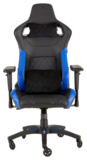 Игровое кресло Corsair T1 RACE 2018 Black/Blue (CF-9010014-WW)