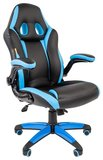 Игровое кресло Chairman Game 15 Black/Blue (00-07022779)