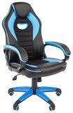 Игровое кресло Chairman Game 16 Black/Blue (00-07024556)